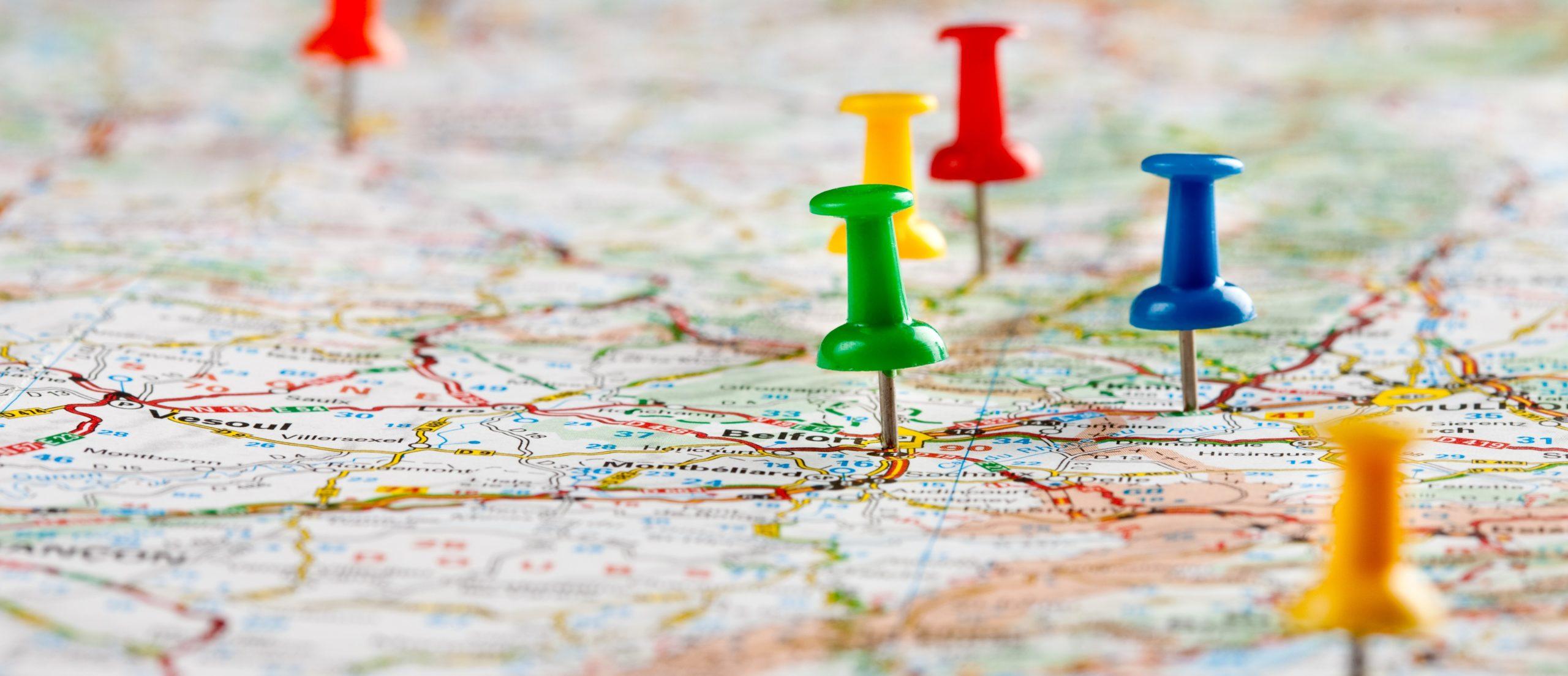 mapowanie tras